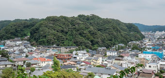 Cityscape of Kamakura, Japan Stock Photo
