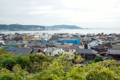 Cityscape of Kamakura, Japan Stock Photography