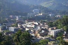 Cityscape Kandy. Sri Lanka Royalty Free Stock Images