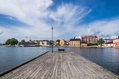 Cityscape of Karlskrona Stock Photo