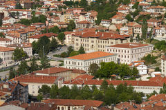 Cityscape of Kastamonu Stock Photography