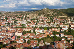 Cityscape of Kastamonu Royalty Free Stock Image
