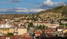 Cityscape of Kastamonu Royalty Free Stock Photo