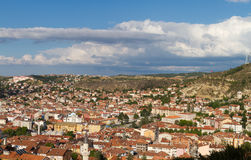 Cityscape of Kastamonu Royalty Free Stock Images