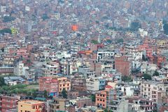 Cityscape of of Kathmandu Royalty Free Stock Photos