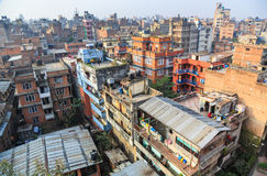 Cityscape, Kathmandu, Nepal Royalty Free Stock Photography