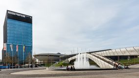 Cityscape of Katowice Royalty Free Stock Photo