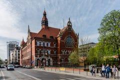 Cityscape of Katowice Royalty Free Stock Photos
