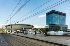 Cityscape of Katowice Royalty Free Stock Images