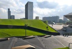 Cityscape of Katowice Stock Photography