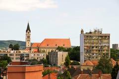 Cityscape in Keszthely Royalty Free Stock Photo
