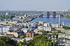 Cityscape of Kiev Stock Photo