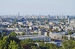 Cityscape of Kiev Royalty Free Stock Image