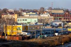 Cityscape Kineshma, Russia Stock Photos