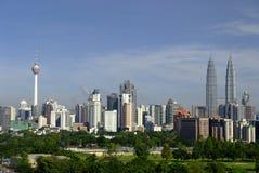 cityscape Kuala Lumpur Arkivfoto