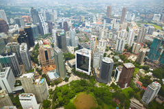 Cityscape in Kuala Lumpur Stock Images