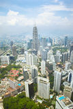 Cityscape in Kuala Lumpur Stock Photo