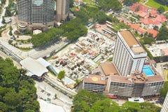 Cityscape in Kuala Lumpur Royalty Free Stock Photos