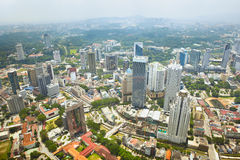 Cityscape in Kuala Lumpur Royalty Free Stock Images