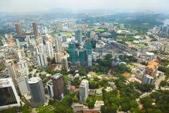 Cityscape in Kuala Lumpur Stock Photos
