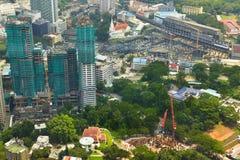Cityscape in Kuala Lumpur Royalty Free Stock Image