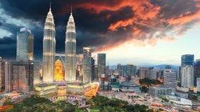 Cityscape of Kuala Lumpur Stock Image
