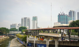 Cityscape in Kuala Lumpur, Malaysia Stock Photography