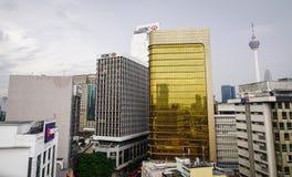 Cityscape of Kuala Lumpur, Malaysia Royalty Free Stock Photography