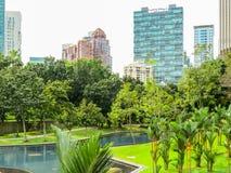 Cityscape of the Kuala Lumpur, Malaysia Royalty Free Stock Photo