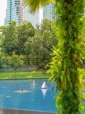 Cityscape of the Kuala Lumpur, Malaysia Stock Photography