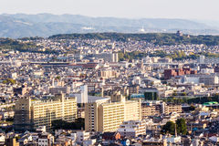 Cityscape of Kyoto, Japan Stock Photography