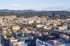 Cityscape of Kyoto, Japan Royalty Free Stock Photography