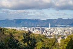 Cityscape of kyoto, kansai, japan Stock Photo