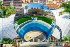 Cityscape of La Condamine, Monaco-Ville, Monaco Stock Photography