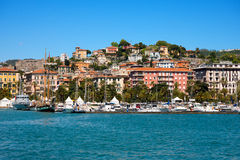 Cityscape of La Spezia - Liguria Italy Stock Images