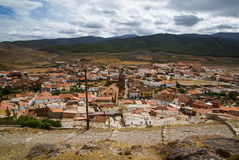 Cityscape at  Lacalaora, Granada, Andalusia, Spain Royalty Free Stock Photography