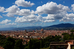 Cityscape landscape Florence, Firenze, Tuscany, Italy Stock Images