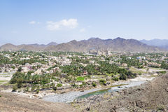 Cityscape and landscape with Fort Bahla Royalty Free Stock Photo