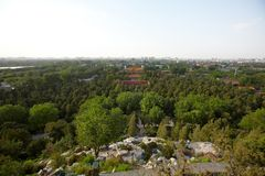Cityscape landschap Royalty-vrije Stock Fotografie