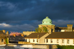 Cityscape of Limerick at sunset Royalty Free Stock Image
