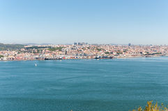 Cityscape of Lisbon Royalty Free Stock Photo