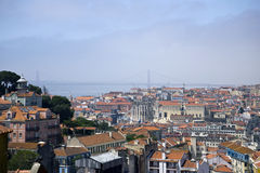 Cityscape Lisbon, Portugal Royalty Free Stock Images