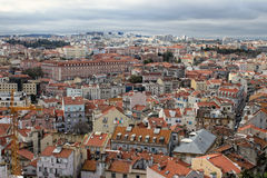 Cityscape of Lisbon, Portugal buildings Stock Photo