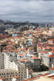 Cityscape of Lisbon, Portugal buildings Stock Image