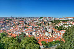 Cityscape in Lisbon, Portugal Stock Image