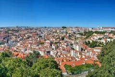 Cityscape in Lisbon, Portugal Stock Image