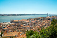Cityscape in Lisbon, Portugal Royalty Free Stock Images