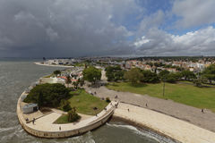 Cityscape of Lisbon, Portugal Stock Photography