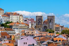 Cityscape of Lisbon. Portugal Stock Photography