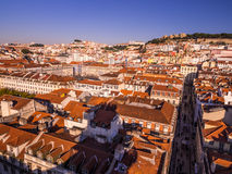 Cityscape of Lisbon, Portugal, seen from Portas do Sol, Stock Photo